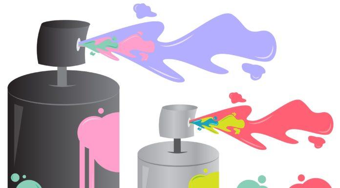 5 porad jak malować sprayem