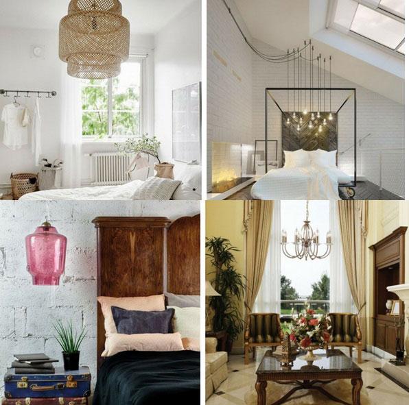 Oświetlamy salon - lampa wisząca czy tradycyjny żyrandol?