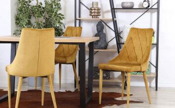 Krzesła Velvet
